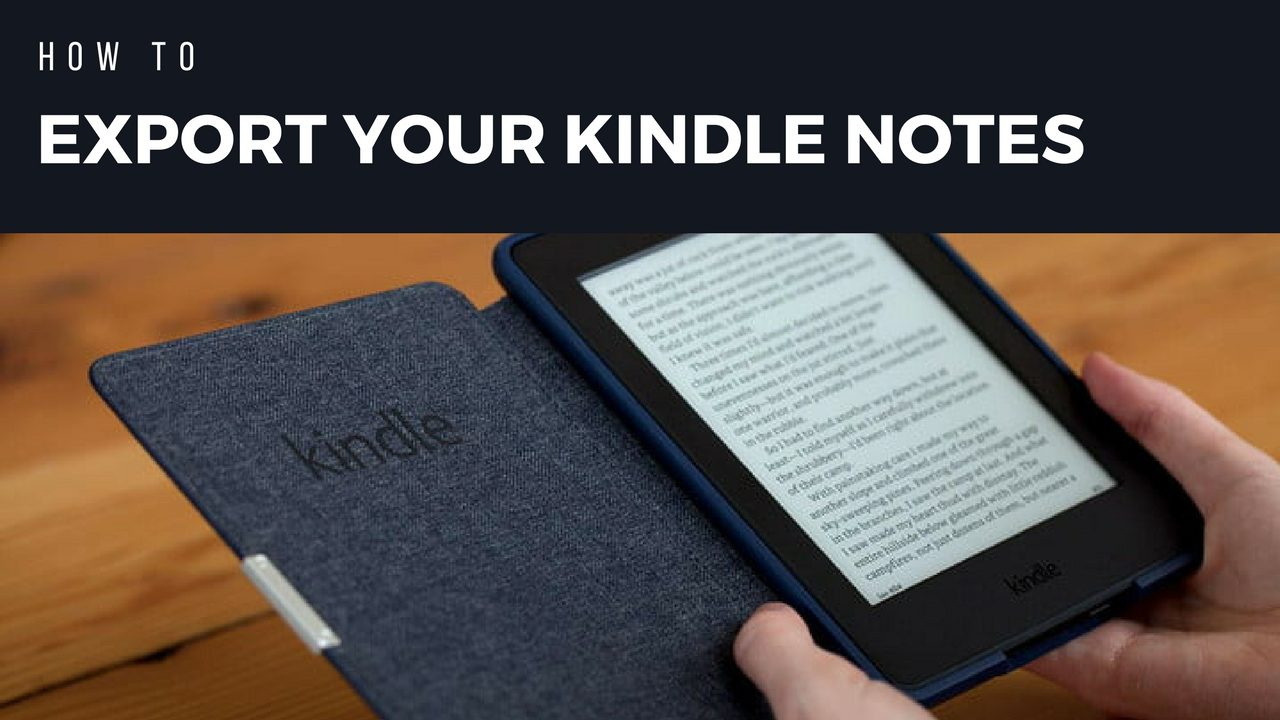 How to download your KINDLE notes and highlights to PDF or Print