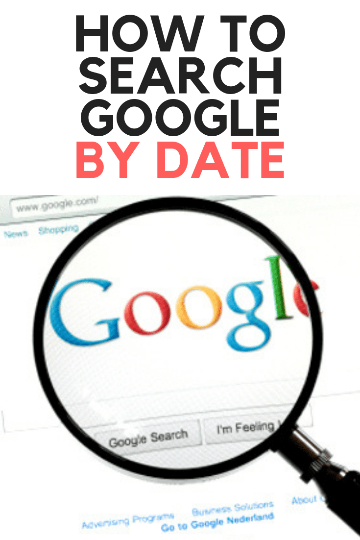 How to Search Google by Date (using Google Date Filters)