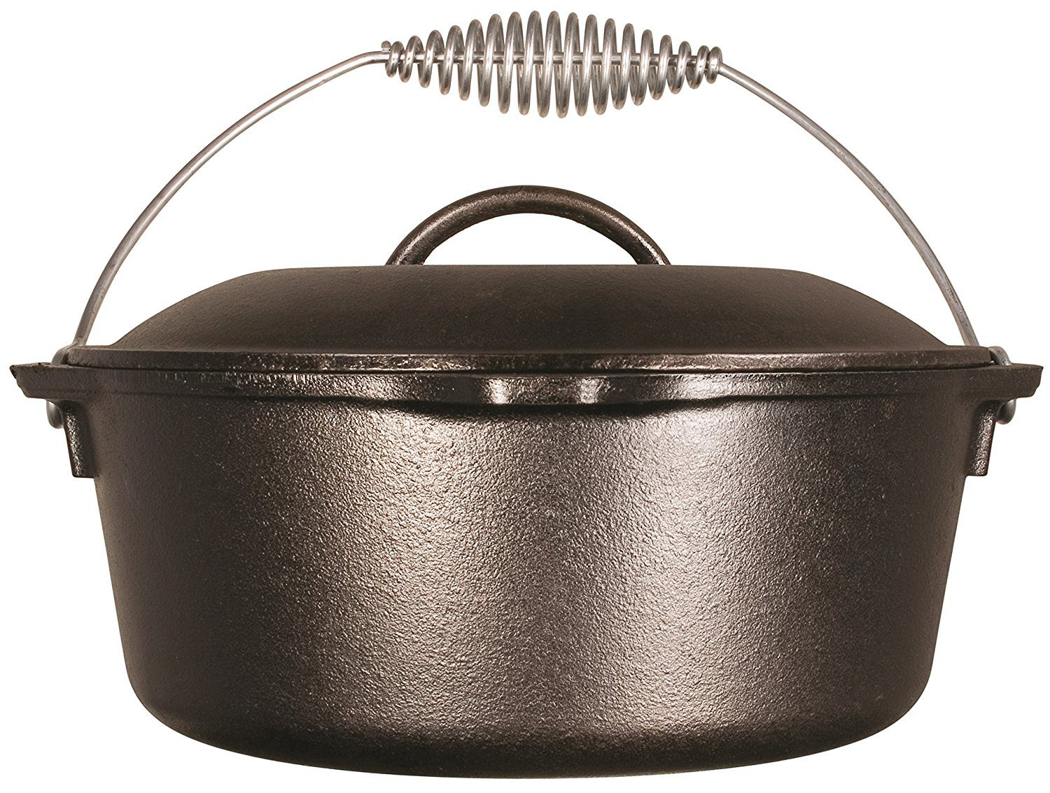 Lodge Dutch Oven – For Camping, Kamado, Frying, and More