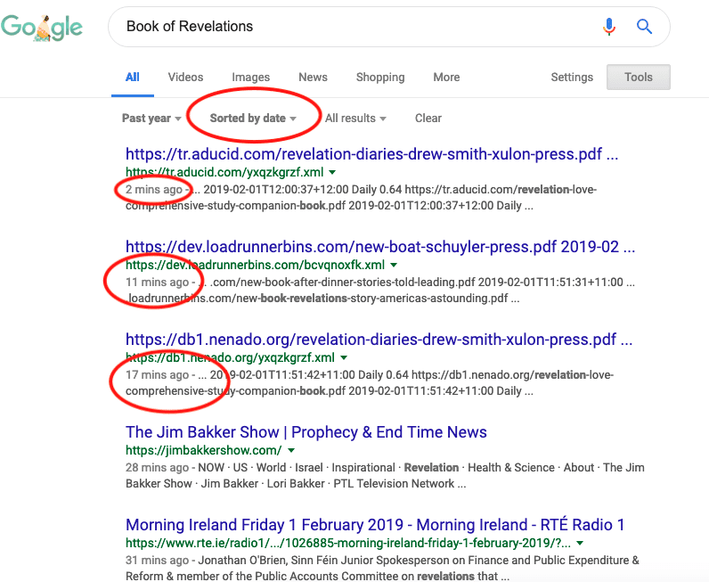 How to Search Google by Date (using Google Date Filters
