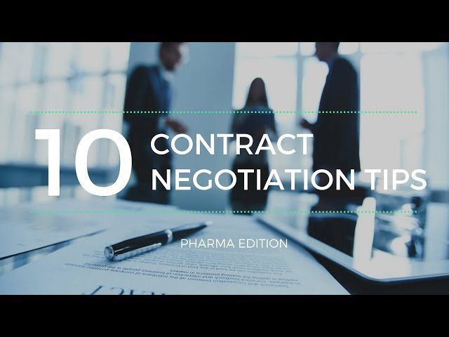 10 Tips for Contract Negotiations