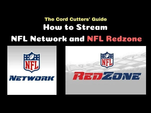 How to Stream NFL Network and NFL Redzone with DTVN, Fubu, Sling, PS Vue, Hulu, YouTube TV, etc