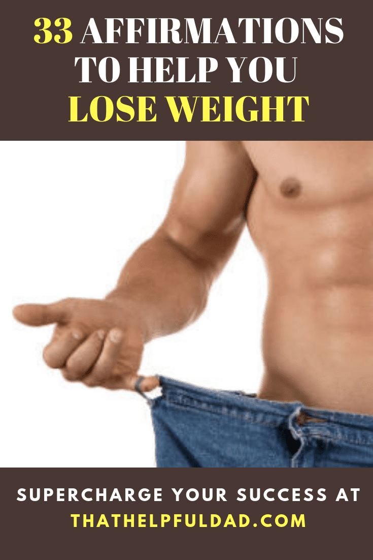 Affirmations that will help you Lose Weight